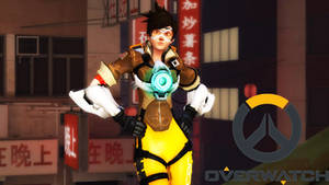 Overwatch - Tracer (Old) by Darkness-Ringo