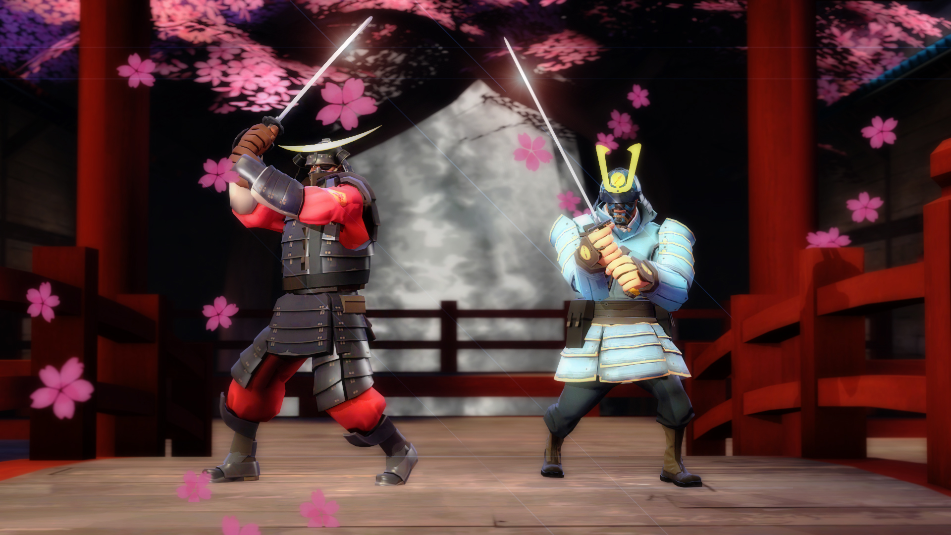 Animated Cuckoo Clock Hat (Team Fortress 2 > Skins > All ...  |Tf2 Samurai Hat