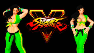 Street Fighter V - Laura by Darkness-Ringo