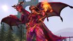Alexstrasza, Dragon Aspect skin by Darkness-Ringo