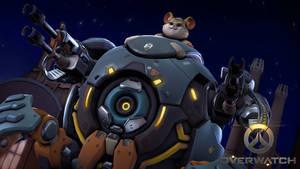 Overwatch - Wrecking Ball by Darkness-Ringo