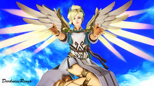 Mercy - Winged Victory Skin by Darkness-Ringo