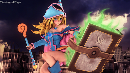 Dark Magician Girl by Darkness-Ringo