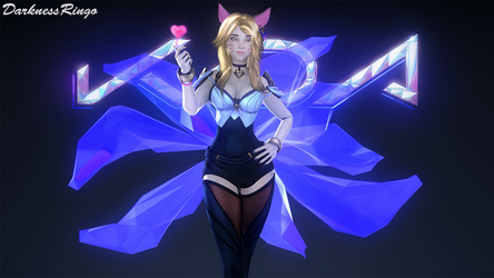 League of Legends - Ahri, K/DA skin