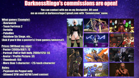 DarknessRingo's Commissions List [CURRENTLY OPEN!]