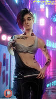 Cyberpunk 2077 - Judy Alvarez