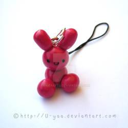 cute pink bunny