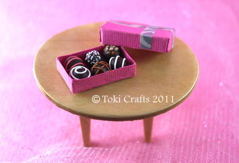 Miniature truffles