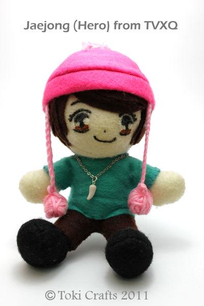 Jaejong 'Hero' plushie