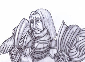 Highlord Christoph Andrews Sketch by ChaosSummers