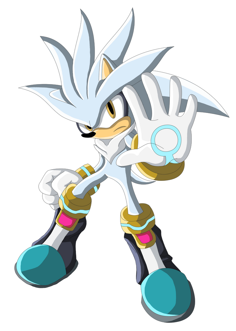 Silver the Hedgehog by ChaosSummers