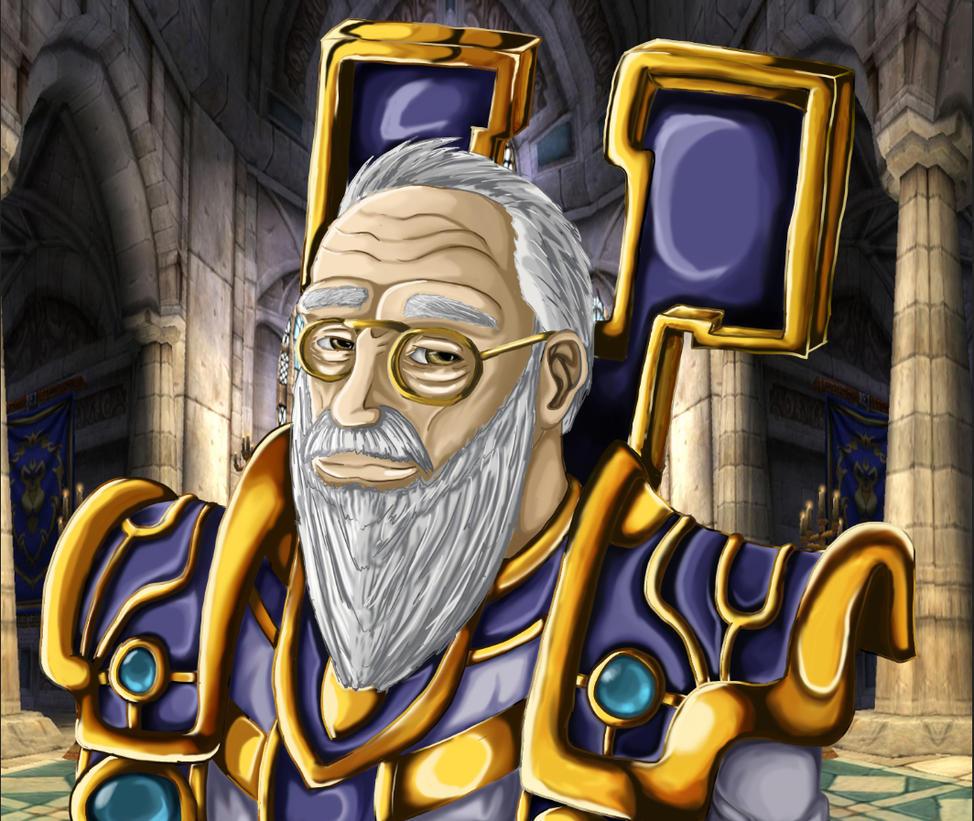 Archbishop Stavros by ChaosSummers