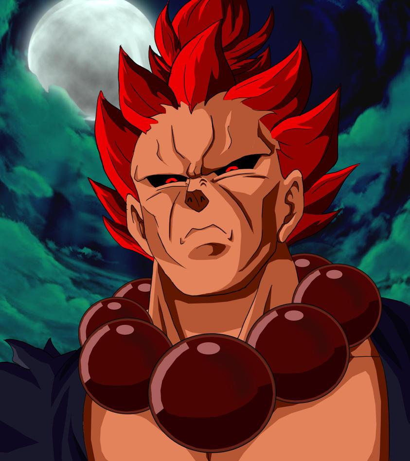 Gouki, Dragon Ball Style by ChaosSummers