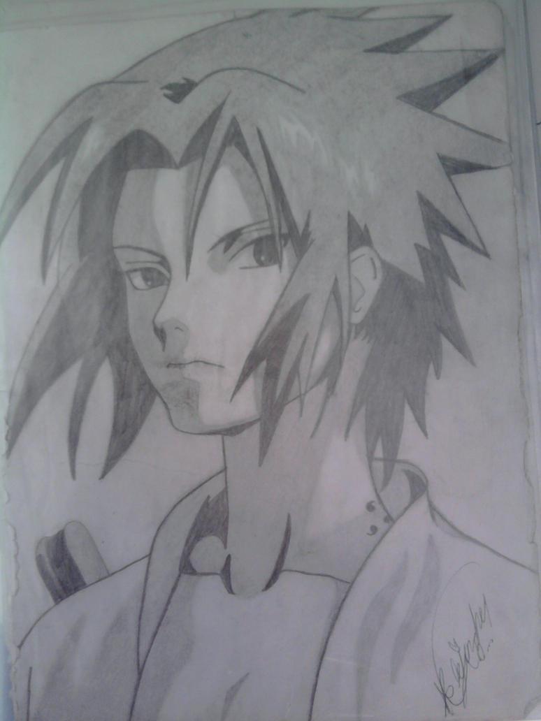 Sasuke Uchiha  Blanco y Negro by karinhale on DeviantArt