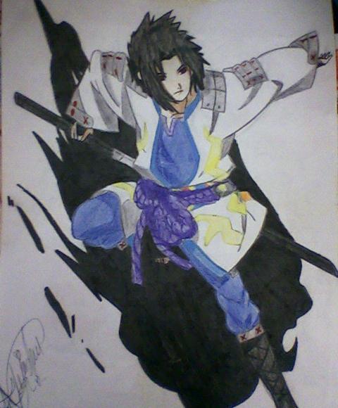 Sasuke Ryuujinki by karin-hale