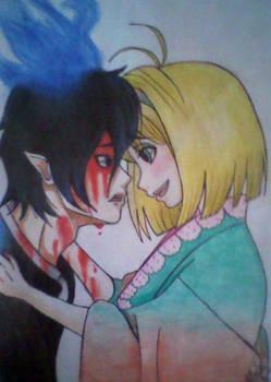 Rin x Shiemi(Colored) - Ao no Exorcist!