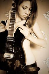 Guitar shaped