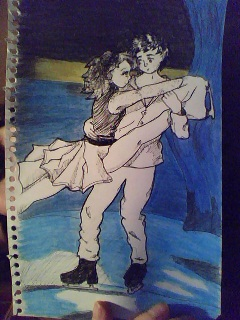 PiperArte Skating_couple___coloured_by_piperkesselman-d4fcvlq