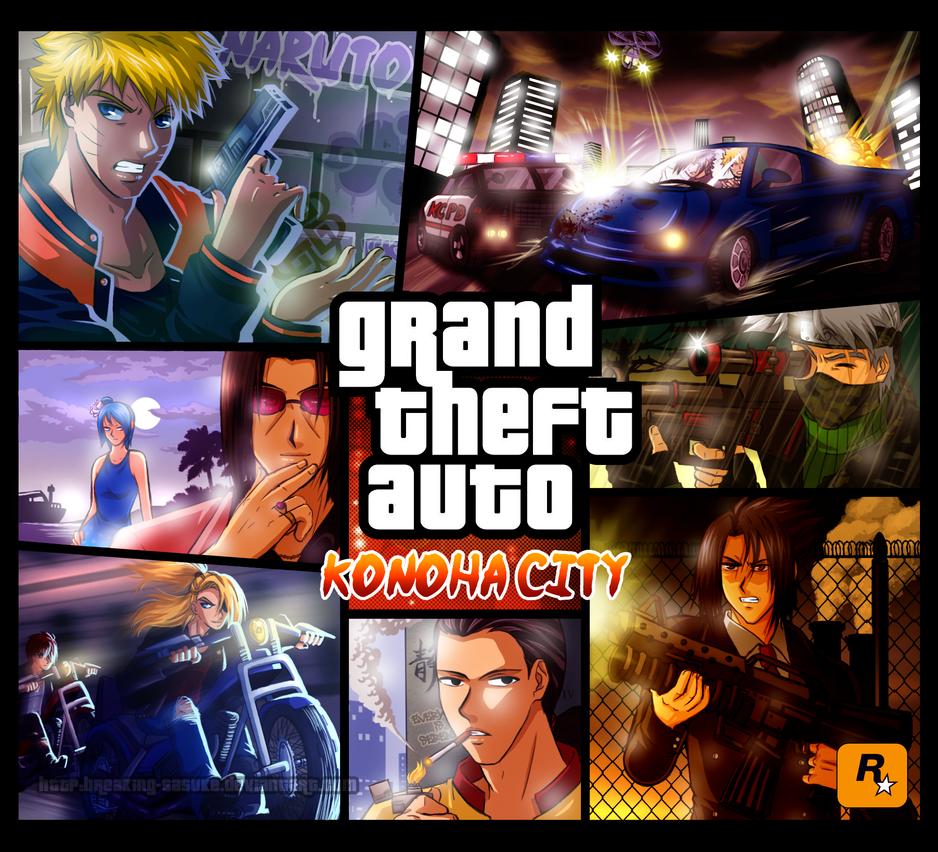 Grand Theft Auto: Konoha City by BreakingSasuke