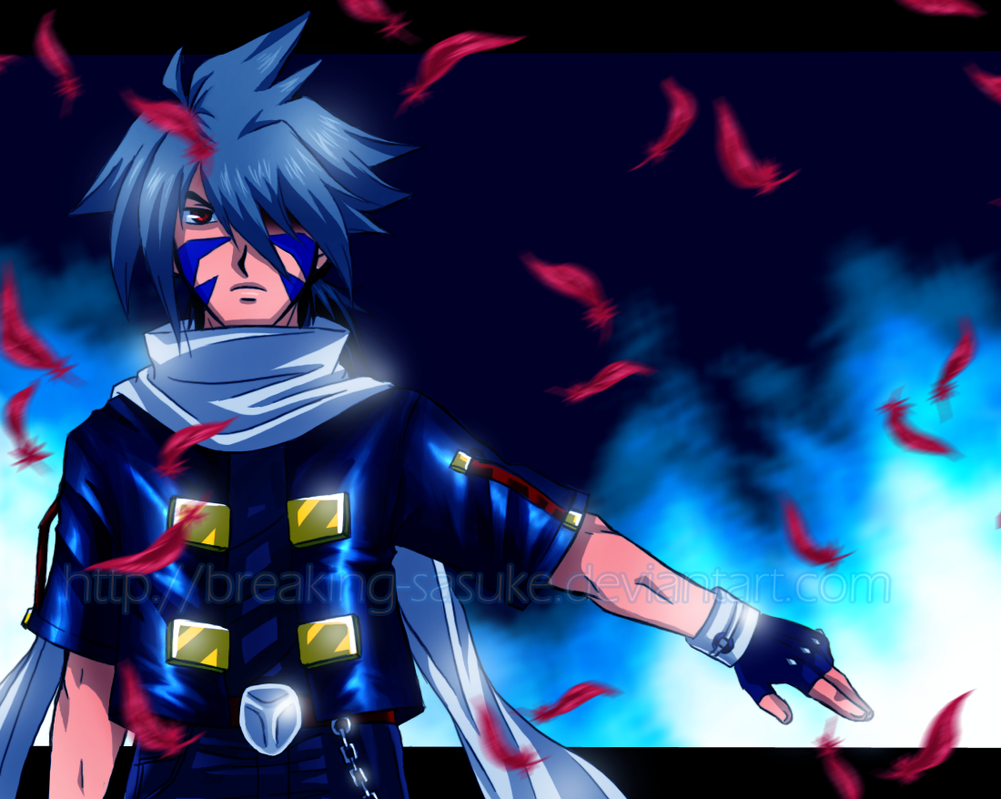 Blue Blazes by BreakingSasuke