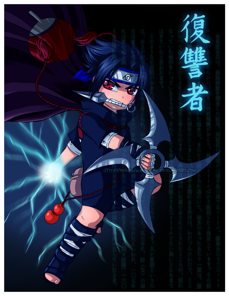 Little Avenger by BreakingSasuke