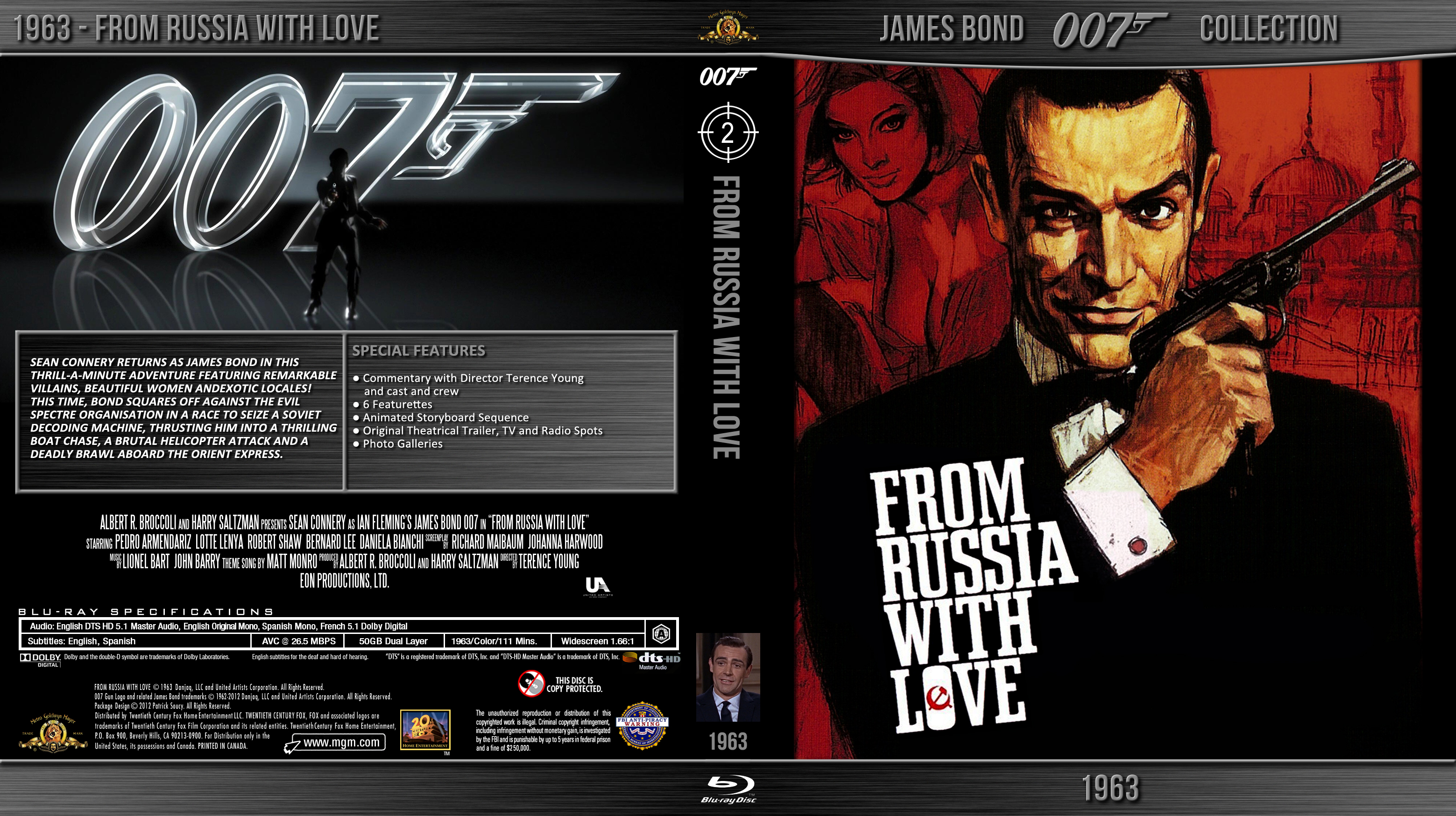 bluray bond 007 02 from russia with love by morsoth