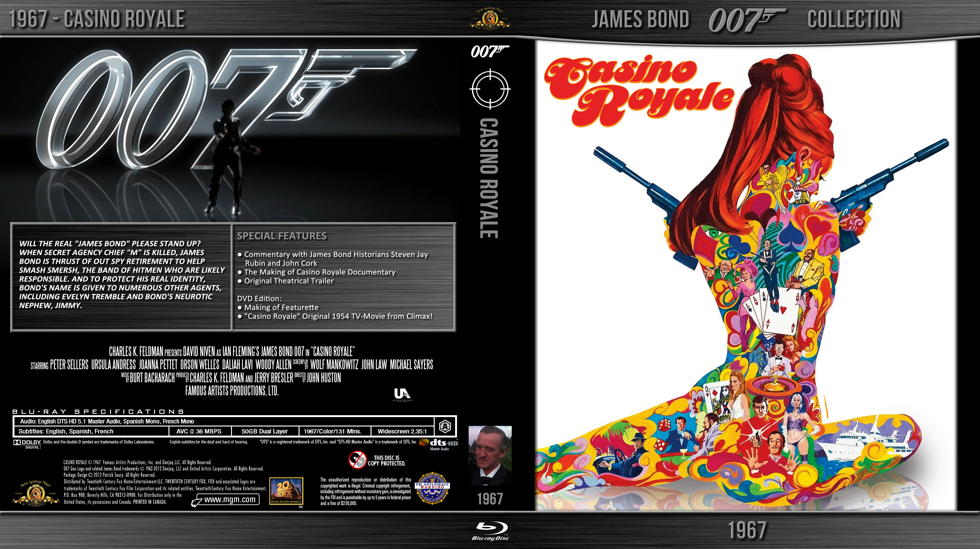 Cdcoverscc  Search  DVD  casino royale