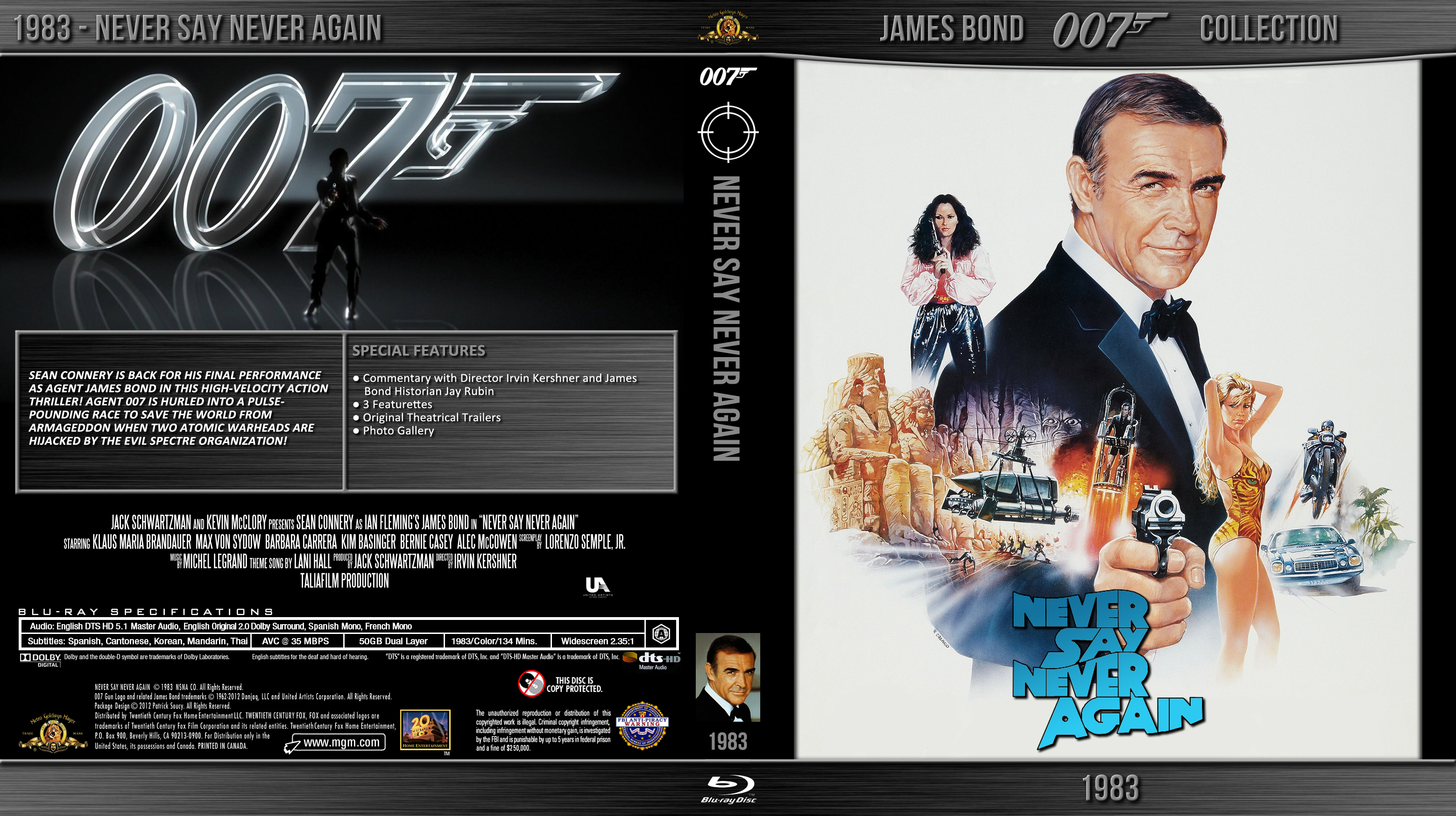 Amazoncom James Bond Ultimate Collectors Set Sean