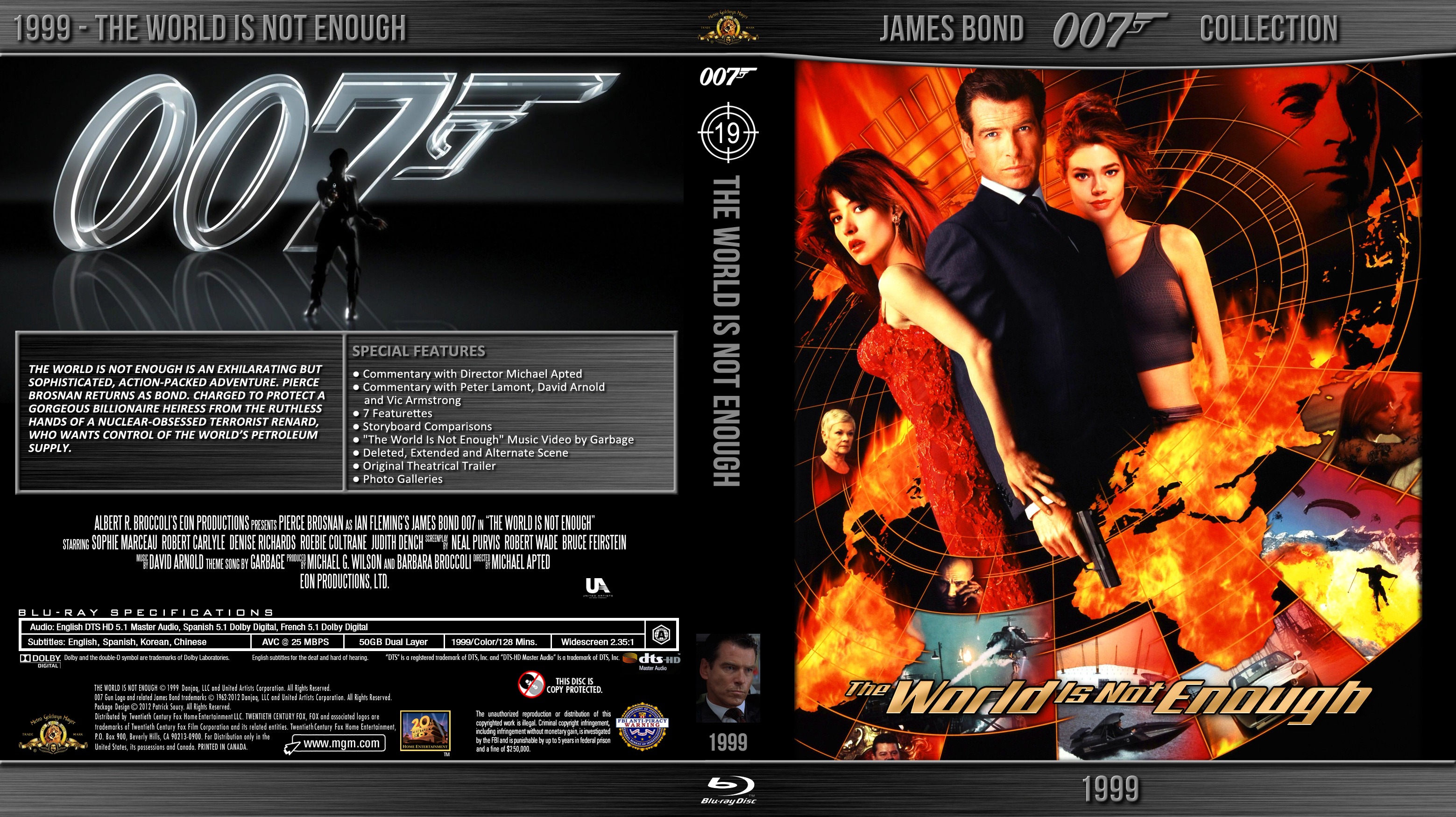 Blu-ray - Bond 007 - 19 The World is Not Enough by Morsoth ... The World Is Not Enough Dvd