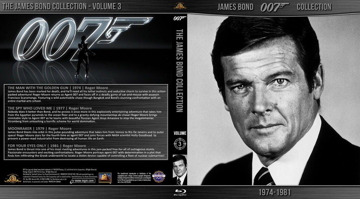 Blu-ray - James Bond 007 Collection 3 (4-Disc Set) by Morsoth on ...