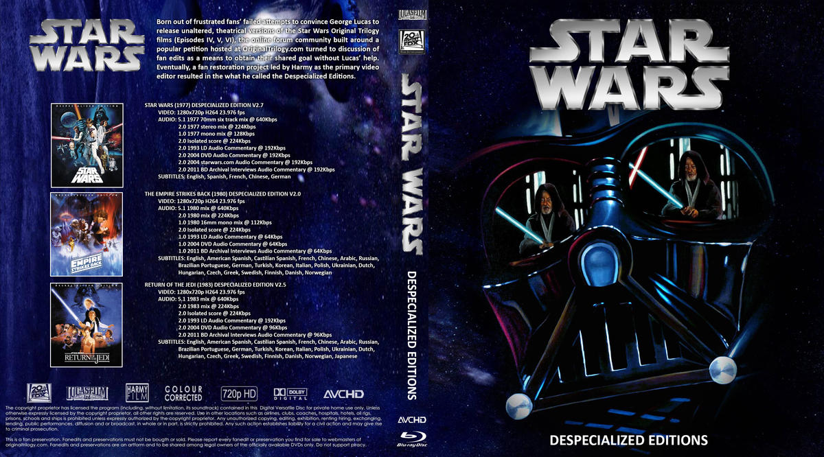 Summary -> The Star Wars Trilogy Project 4k83