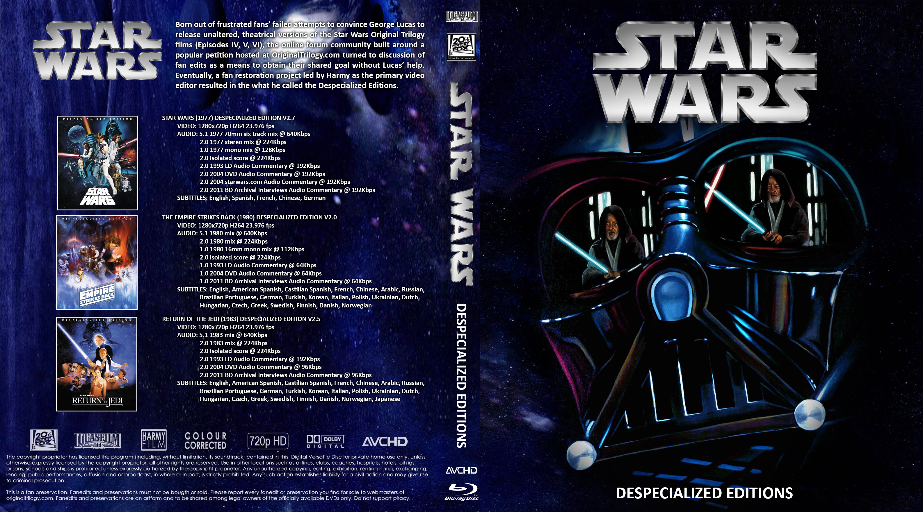 Star Wars Anthology Covers - 0425