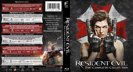 Blu-ray - Resident Evil: The Complete Collection by Morsoth
