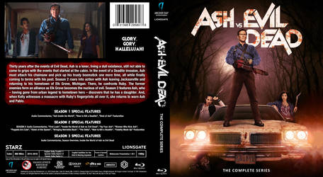 Blu-ray - Ash vs Evil Dead Seasons 1-3 by Morsoth