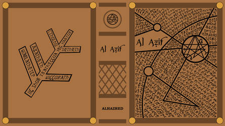 Concept Art - Necronomicon Book Cover