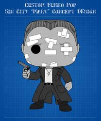 Custom Funko Pop - Marv (Sin City) Concept Design