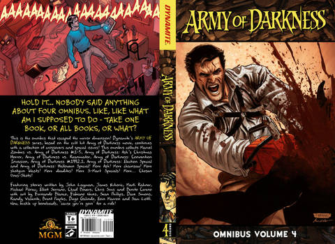Army of Darkness Comic Omnibus 4 (Book Cover)