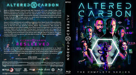 Blu-ray - Altered Carbon (Seasons 1-2 + Resleeved)