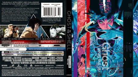 4K Blu-ray - Ghost in the Shell (1995) Uncensored