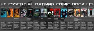 Timeline - The Essential Batman Comic Book List