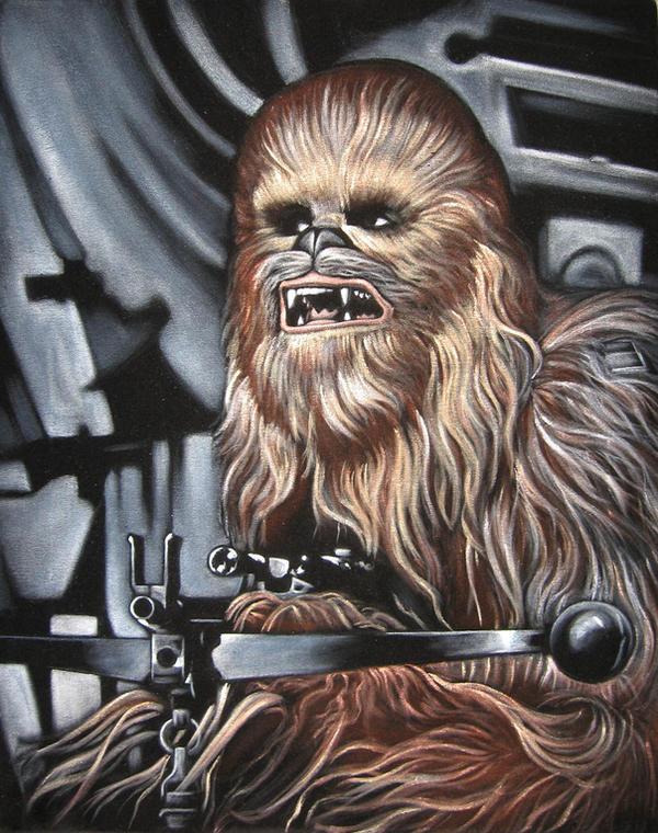 Chewbacca Star Wars Wallpaper Chewbacca Hd Wallpapers  : chewbaccabybrucewhite from vacances-mediterranee.info size 600 x 760 jpeg 161kB