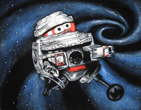 black hole old bob robot - photo #39