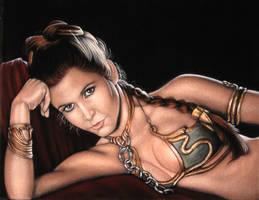 Princess Leia- Jabba's Slave by BruceWhite