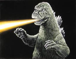 Godzilla 1974 by BruceWhite