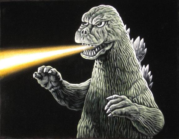 Godzilla 1974 by BruceWhite on DeviantArt