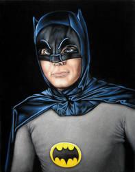 Adam West as Batman by BruceWhite