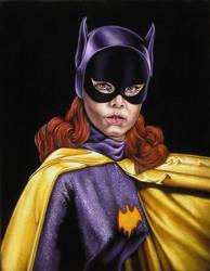 Yvonne Craig as...Batgirl by BruceWhite