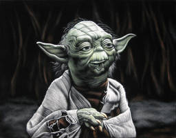 Yoda, The Jedi Master by BruceWhite