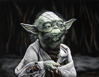 Yoda, The Jedi Master by BruceWhite
