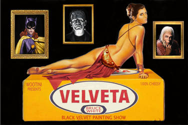 'Velveta' Art Show Invite by BruceWhite